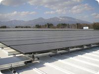 太陽光発電パネル(双信電機様)