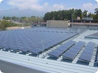 太陽光発電パネル(カウベルエンジニアリング様)