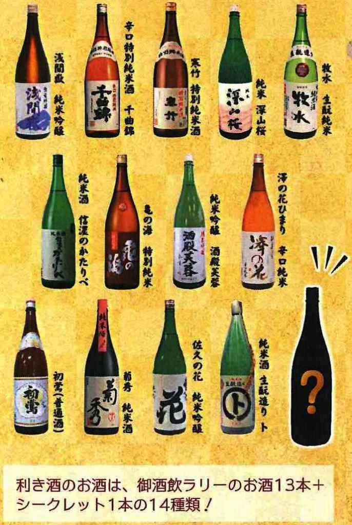 イメージ:【求ム参加者】目指せ「酒匠」利き酒選手権!