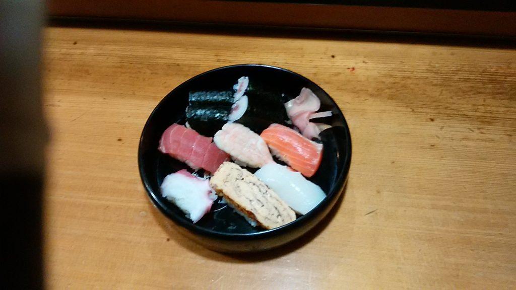 寿司 一人前