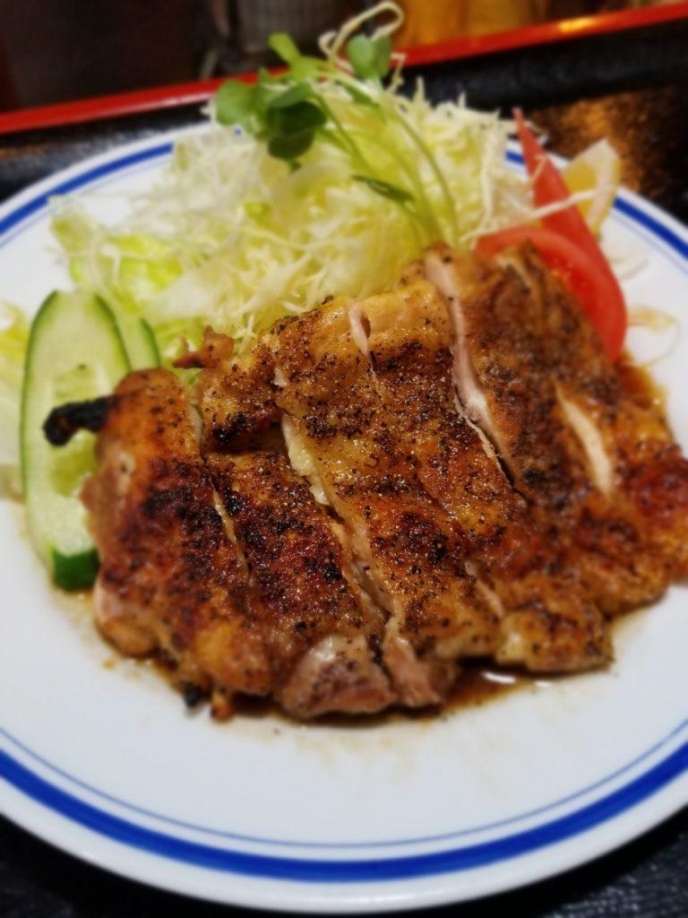 鶏焼き定食