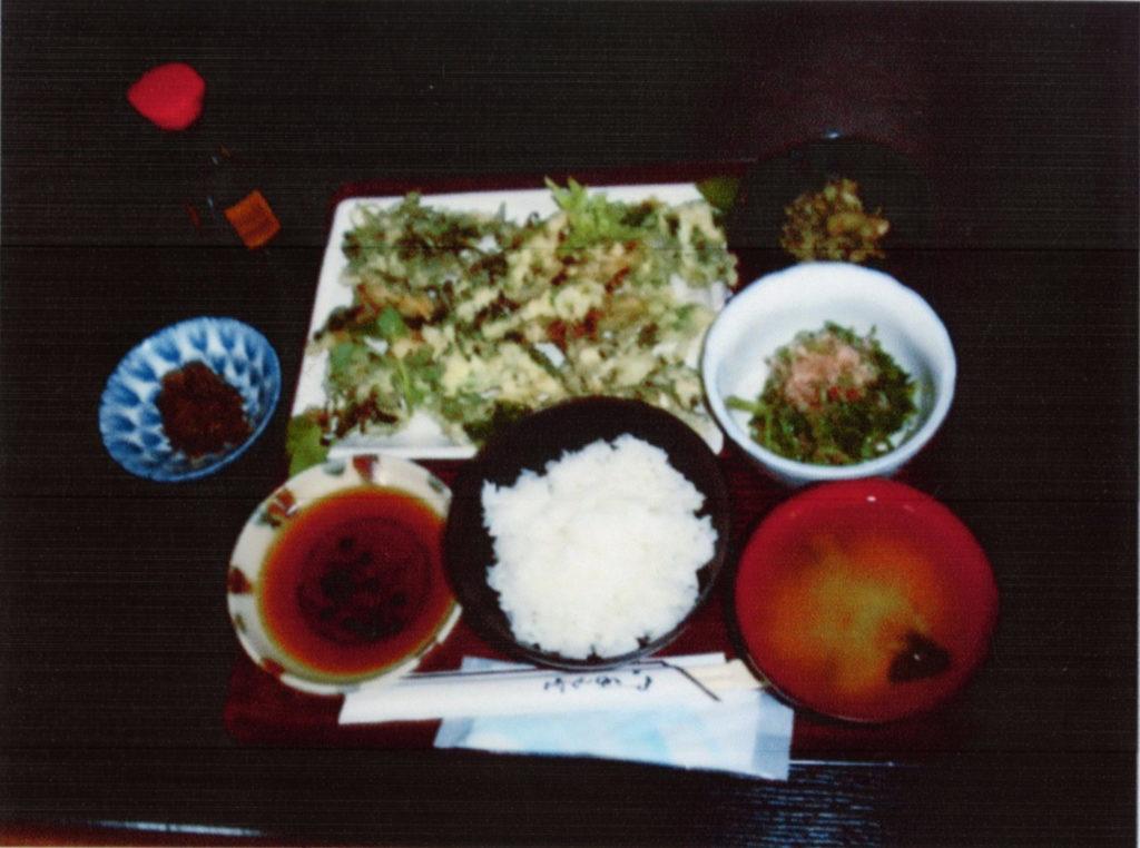 王将山菜定食(5~6品)
